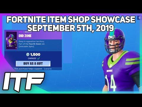 Fortnite Item Shop NFL SKINS ARE BACK! [September 5th, 2019] (Fortnite Battle Royale)