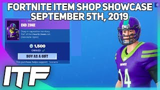Fortnite Item Shop NFL SKINS ARE BACK! [5 septembre 2019] (Fortnite Battle Royale)