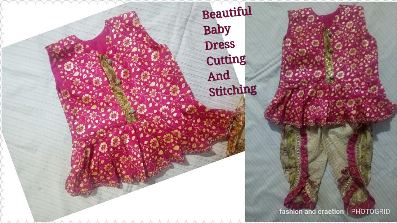 81b066f7f8ed How to make baby girl dress summer frock design 2018 eid dress ...