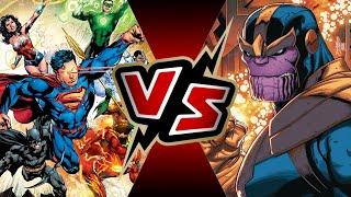 Justice League VS Thanos | BATTLE ARENA