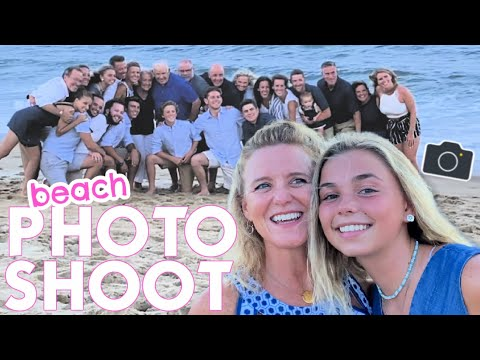 OUTER BANKS BEACH VACATION DAY ONE | FAMILY PHOTO SHOOT + OCEAN RESCUE