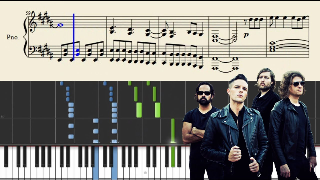 The killers when you were young piano tutorial sheets youtube the killers when you were young piano tutorial sheets hexwebz Image collections