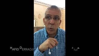 Interview de Hafid Derradji au sujet de la situation de l'Algérie