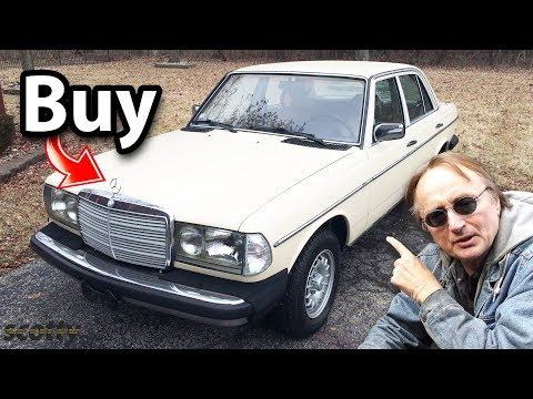 Here's What I Think of Old Mercedes Benz Cars in 1 Minute