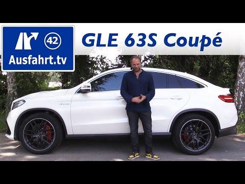 2016 Mercedes-AMG GLE 63S Coupé (C292) - Fahrbericht der Probefahrt, Test, Review Ausfahrt.tv