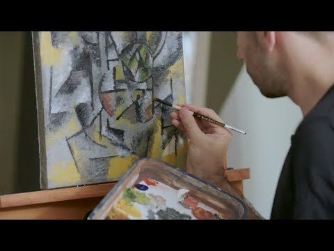How to paint like Pablo Picasso (Cubism) | IN THE STUDIO