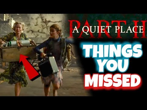 10 Things You Missed In A Quiet Place 2 Trailer