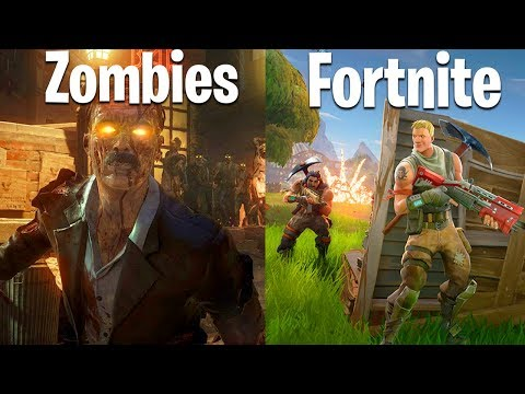ZOMBIES YOUTUBERS VS. FORTNITE