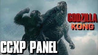 Godzilla vs kong at ccxp 2020