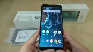 Mi A2 6GB 128GB unboxing & basic features showcase Malaysia Set