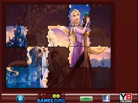 เกมส์ ต่อจิ๊กซอภาพเจ้าหญิงราพันเซล