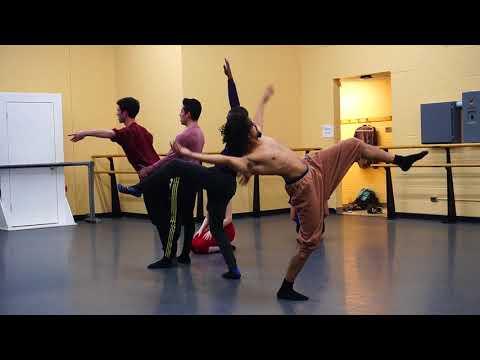 Amy O'Brien Dance Rehearsal 3 28 18