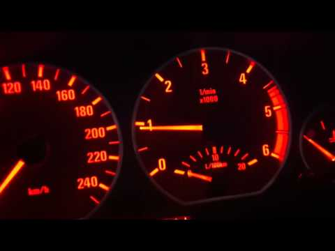 BMW E46 320D M47N morning cold engine RPM
