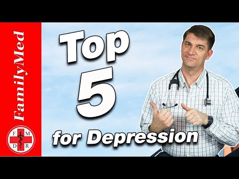 Top 5 Medications for Depression   Is One Better for You?