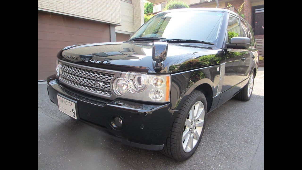 2006 Range Rover Super Charger Black leather for sale Tokyo