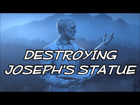 false prophet far cry 5 how to get into statue