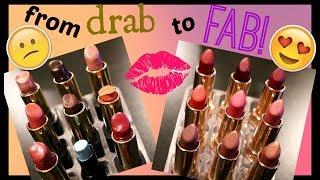 DIY Custom Lipsticks 💄💋 Turn Your Old Into New!