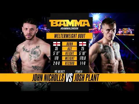 BAMMA 34: John Nicholls vs Josh Plant