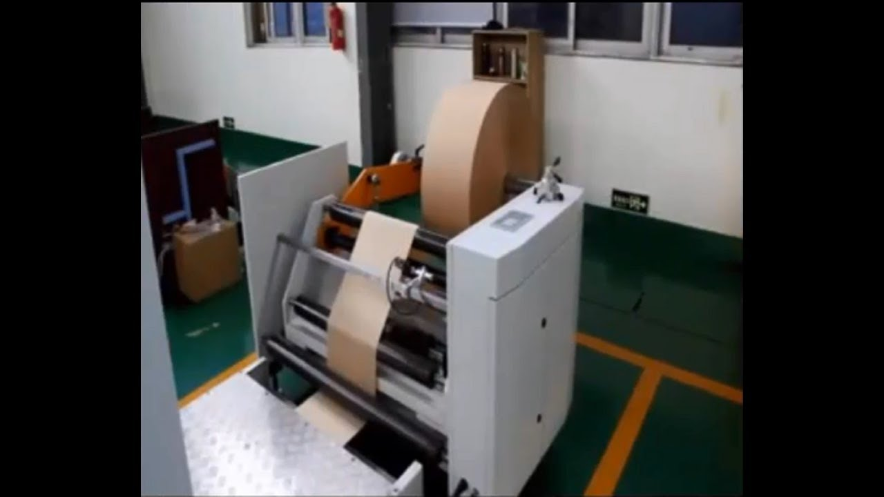 Paper Bag Making Machine - Roll Fed Food Paper Bag Making Machines Price