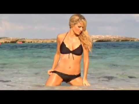 Chanel Ryan Calendar 2014 Swimwear Model Shoots  In The Bahamas