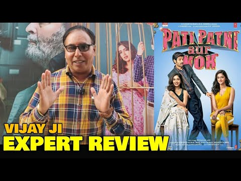 Pati Patni Aur Woh Movie REVIEW by Vijay Ji | Kartik Aaryan, Ananya Panday, Bhumi Pednrkar