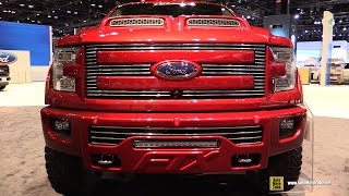 2016 Ford F150 FTX Edition by Tuscany - Exterior and Interior Walkaround - 2016 Chicago Auto Show