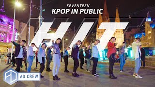 KPOP IN PUBLIC SEVENTEEN 'HIT' Dance Cover [AO CREW - AUSTRALIA] ONE SHOT