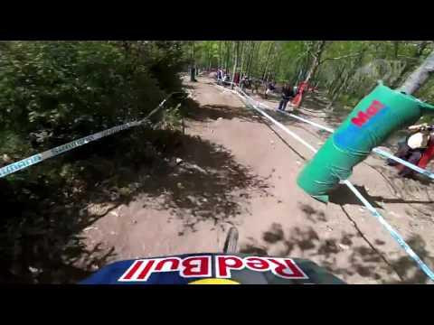 HI-SPEED Loic Bruni in Lourdes - 2017 UCI World Cup - Qualification run