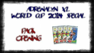 Adrenalyn XL Fifa World Cup 2014 Special (2/3) - Pack Opening