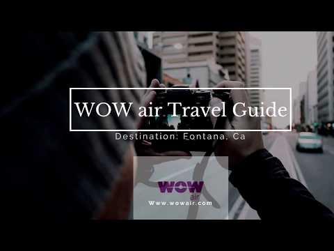 WOW air travel guide application