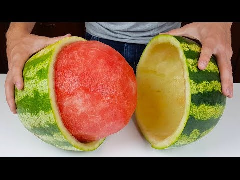 6 ORIGINAL WAYS TO CUT A WATERMELON