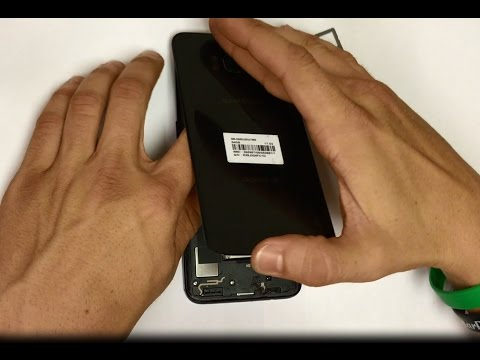 How to Remove the Samsung Galaxy S8 Back Glass Cover