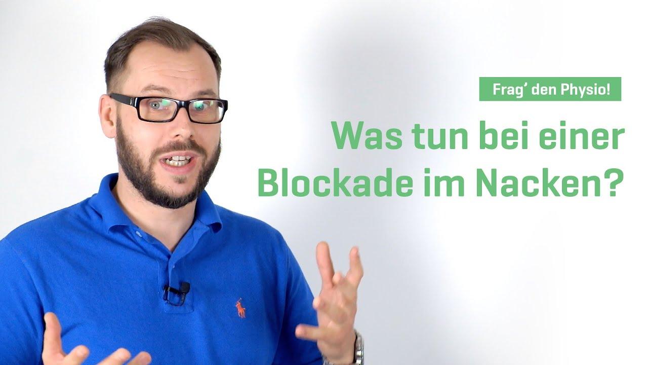 Was Tun Bei Einer Blockade Im Nacken?