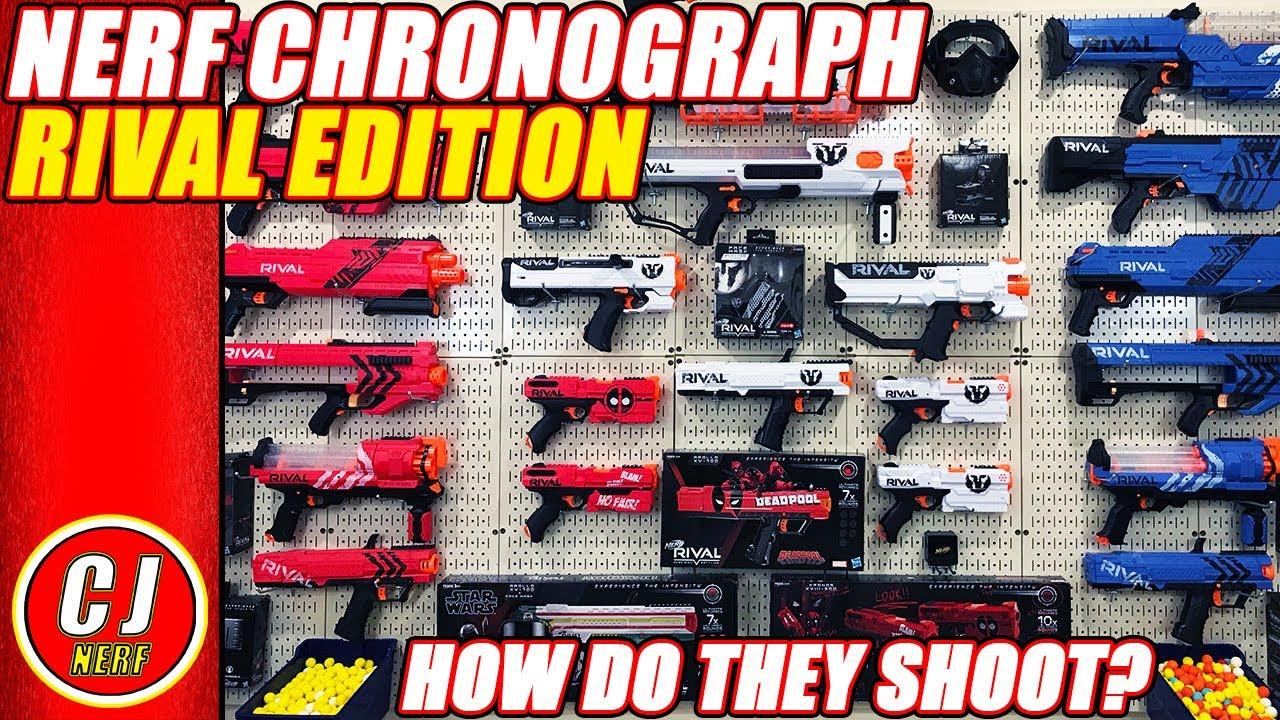 Download Nerf Chronograph | Nerf Rival Series + Range Test 2019