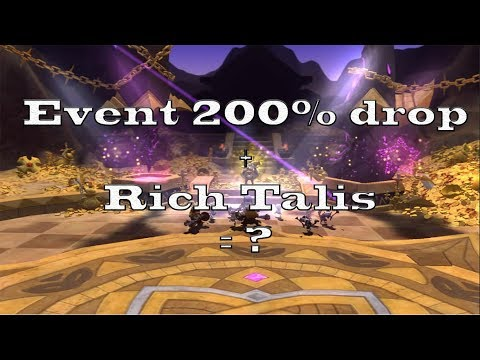 2X HIT THE GOLDEN GOBLIN + 200% DROP + RICH TALIS + SAINT = ? - DRAGON NEST INDONESIA