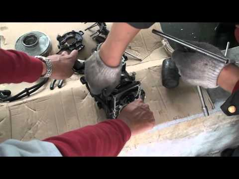 разборка и сборка лодочного мотора видео