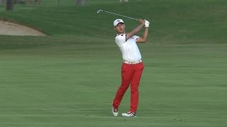 Si Woo Kim eagles his final hole at Sony Open