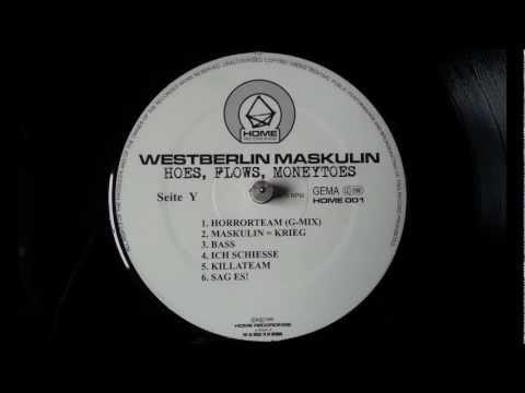Westberlin Maskulin - Hoes, Flows, Moneytoes (1997/1999) [Full Album]