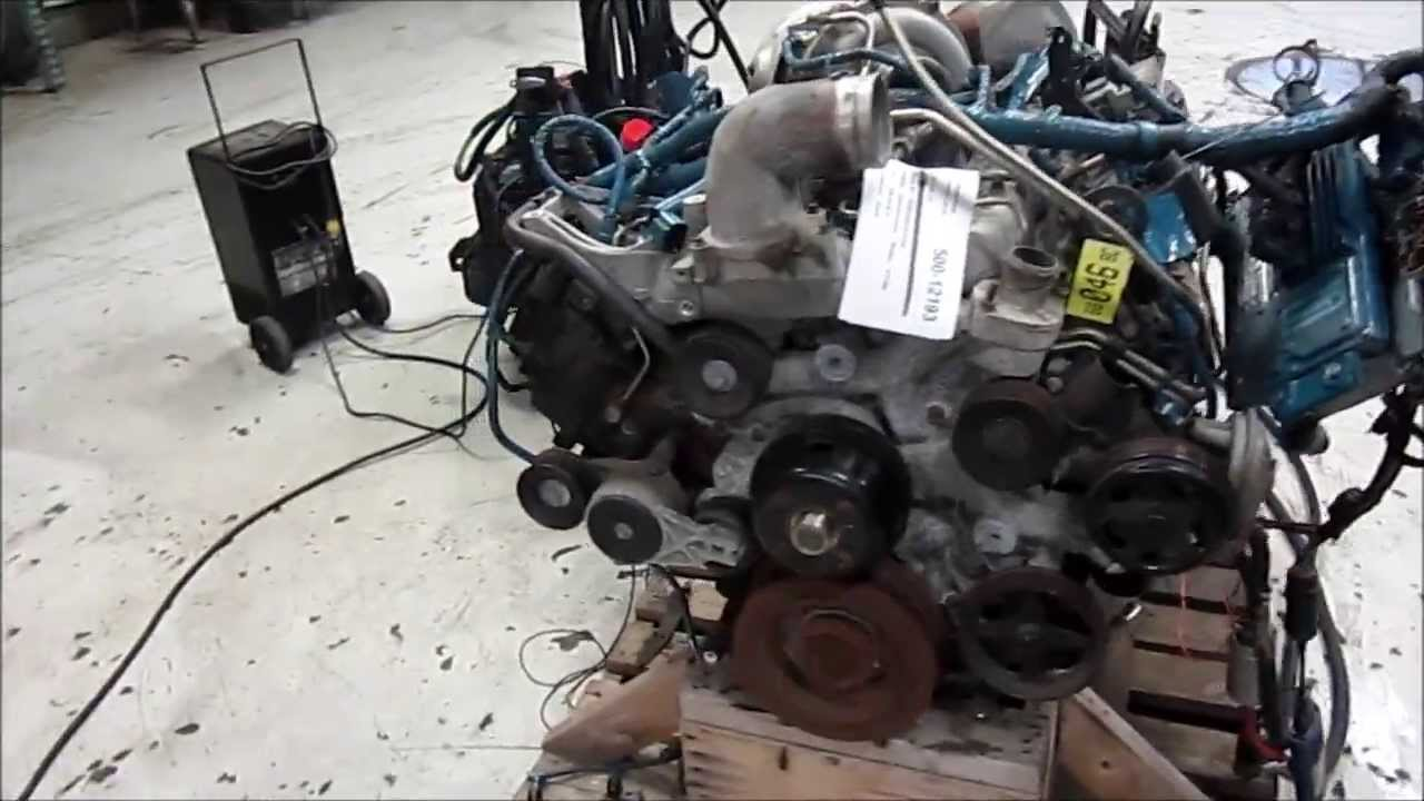 2006 International Vt365 Engine Running Youtube