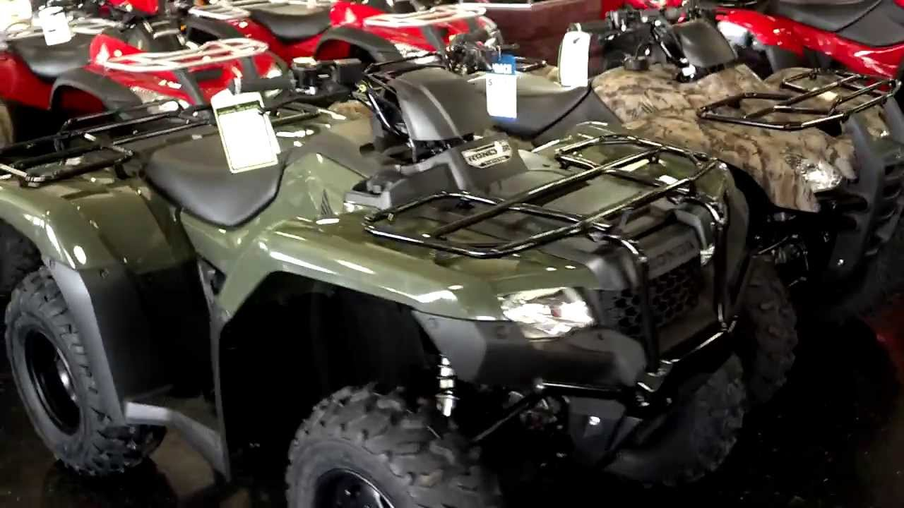Honda Rancher For Sale >> 2014 Rancher vs 2013 Rancher TRX420 ATV Comparison // Honda ATV SALE Prices Honda of Chattanooga ...
