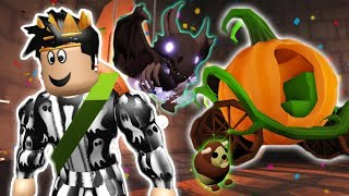 THE NEW HALLOWEEN ADOPT ME UPDATE! PUMPKIN CARRIAGE GIVEAWAY, NEW PETS AND MORE!