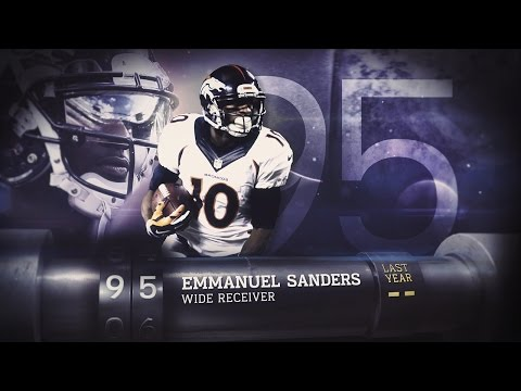 #95 Emmanuel Sanders (WR, Broncos) | Top 100 Players of 2015