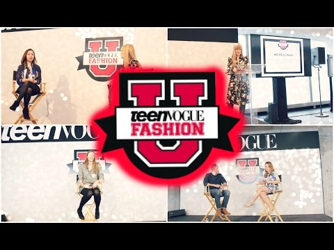 Teen Vogue Fashion University 2015