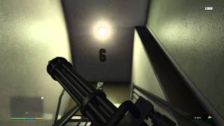 (Read Description) GTA 5 Getting the Minigun and P996 Lazer Safely (No cheats and No Wanted level)