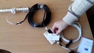 Комплект: Репитер GSM 1800 mHz ICS7MINI-D c Gsm антеннами и кабелем.(Бюджетная модель репитера 1800 мГц. https://digus.com.ua/signal-booster/repeater-gsm-ics7mini-d-1800mhz/ Различные варианты оборудования:..., 2016-02-03T13:51:14.000Z)