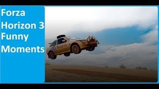 Forza Horizon 3 - FUNNY MOMENTS (FAIL&WIN)