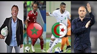 عاجل مدرب الجزائر يسعى لخوض  ديربي مغاربي ضد اسود الاطلس  في شهر مارس