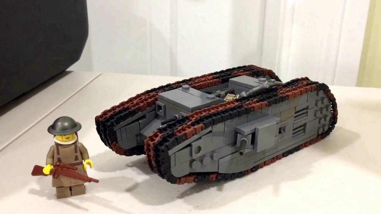 how to build a mini lego tank