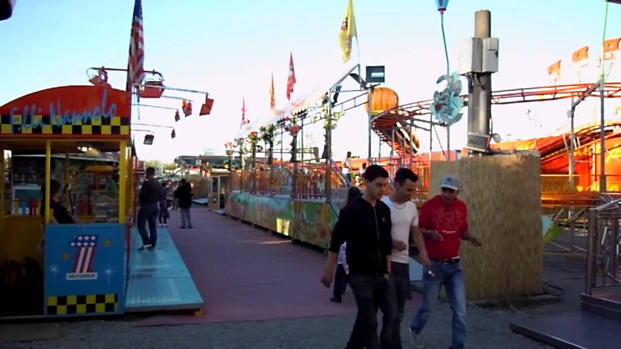 Luna park giostre alessandria youtube for Giostre luna park usate