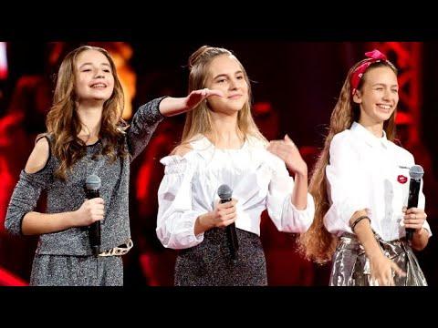 Anna Dąbrowska, Gabrysia Jeleń, Anna Rom - I Wanna Dance With Somebody - Bitwy The Voice Kids